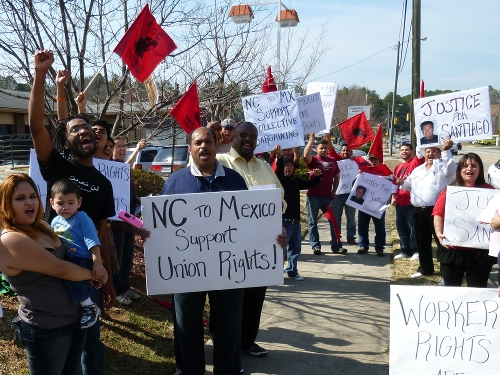 Solidarity Rally in North Carolina